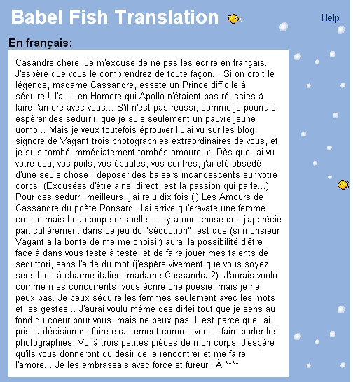jolie traduction