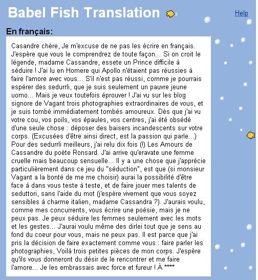 jolie traduction